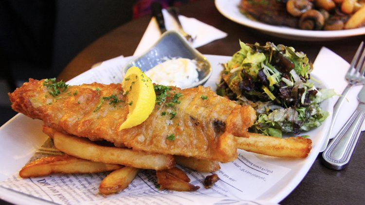 Fish & chips…